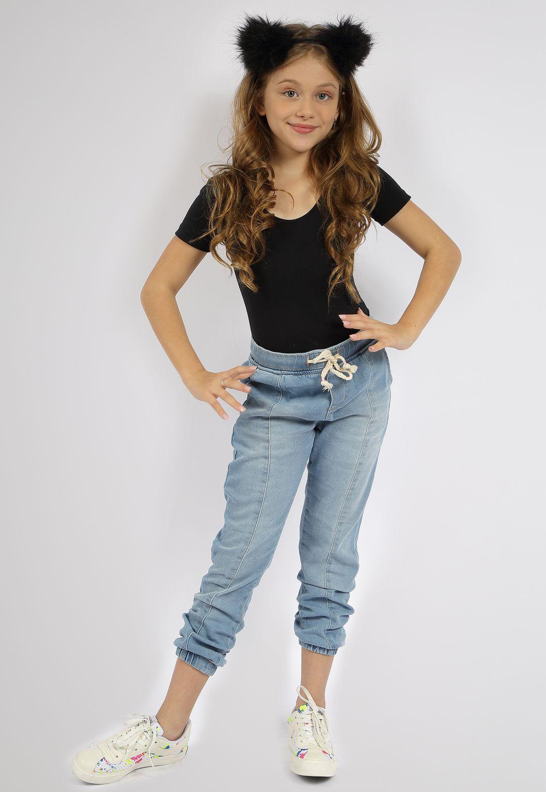 Calça Crawling Jeans Moletom Feminina
