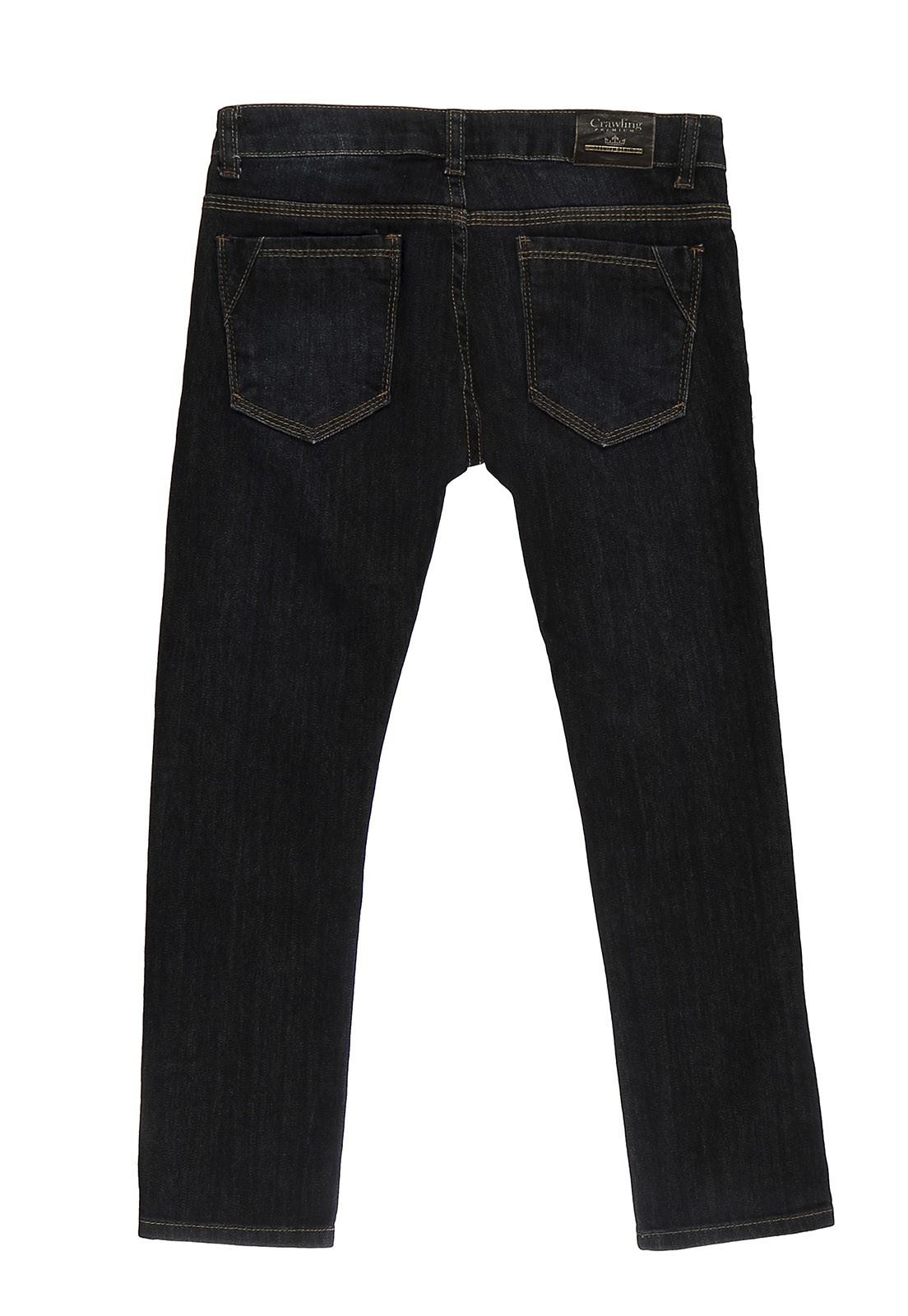 Calça Crawling Jeans Skinny Masculina