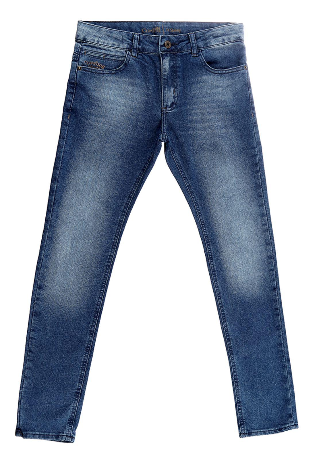 Calça Crawling Masculina Jeans Skinny