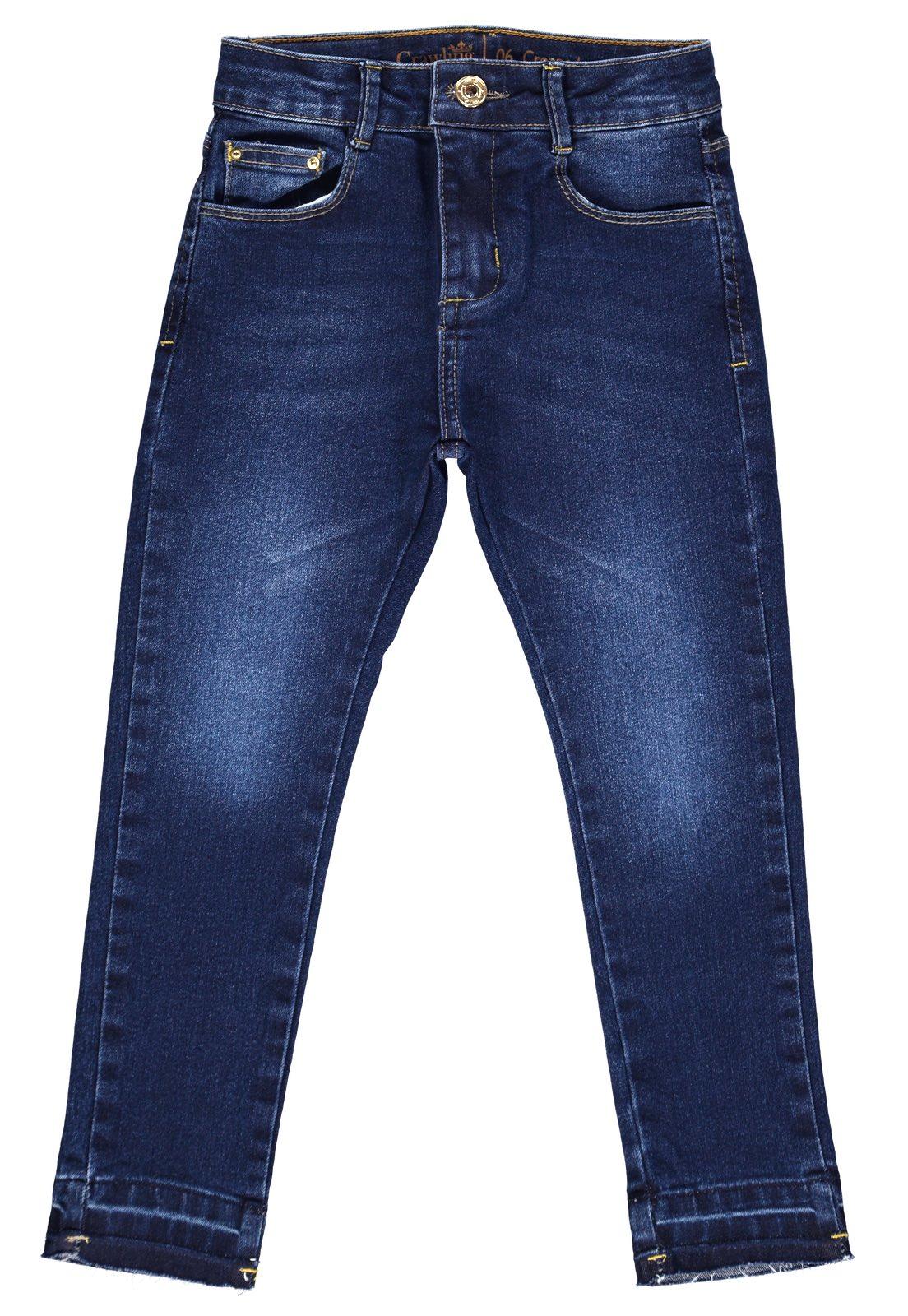 Calça Feminina Crawling Cropped Jeans