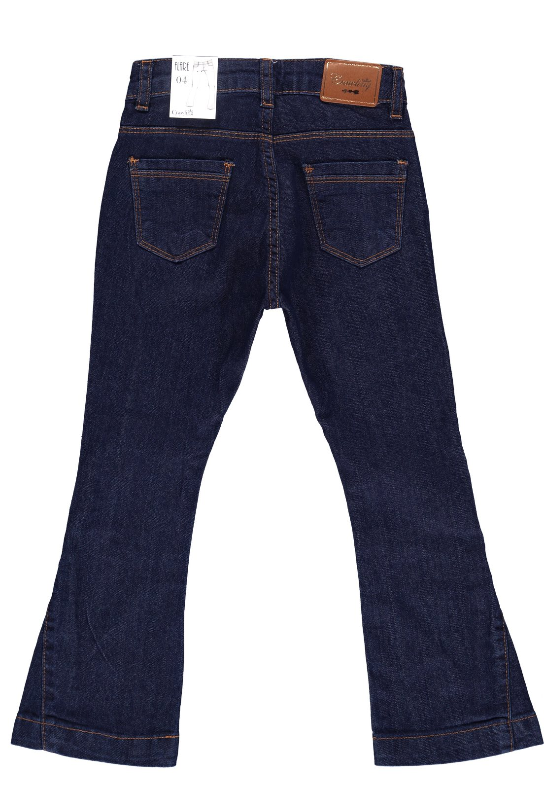 Calça Feminina Crawling Flare Jeans