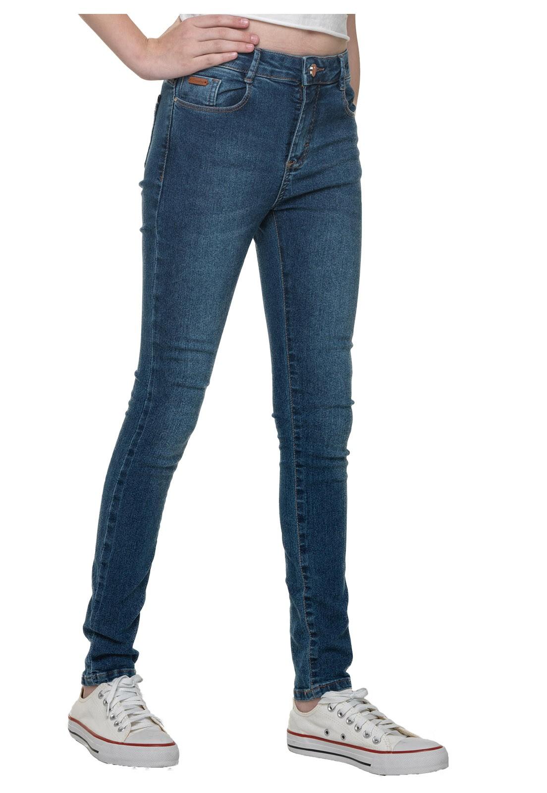 Calça Feminina Crawling Skinny Jeans