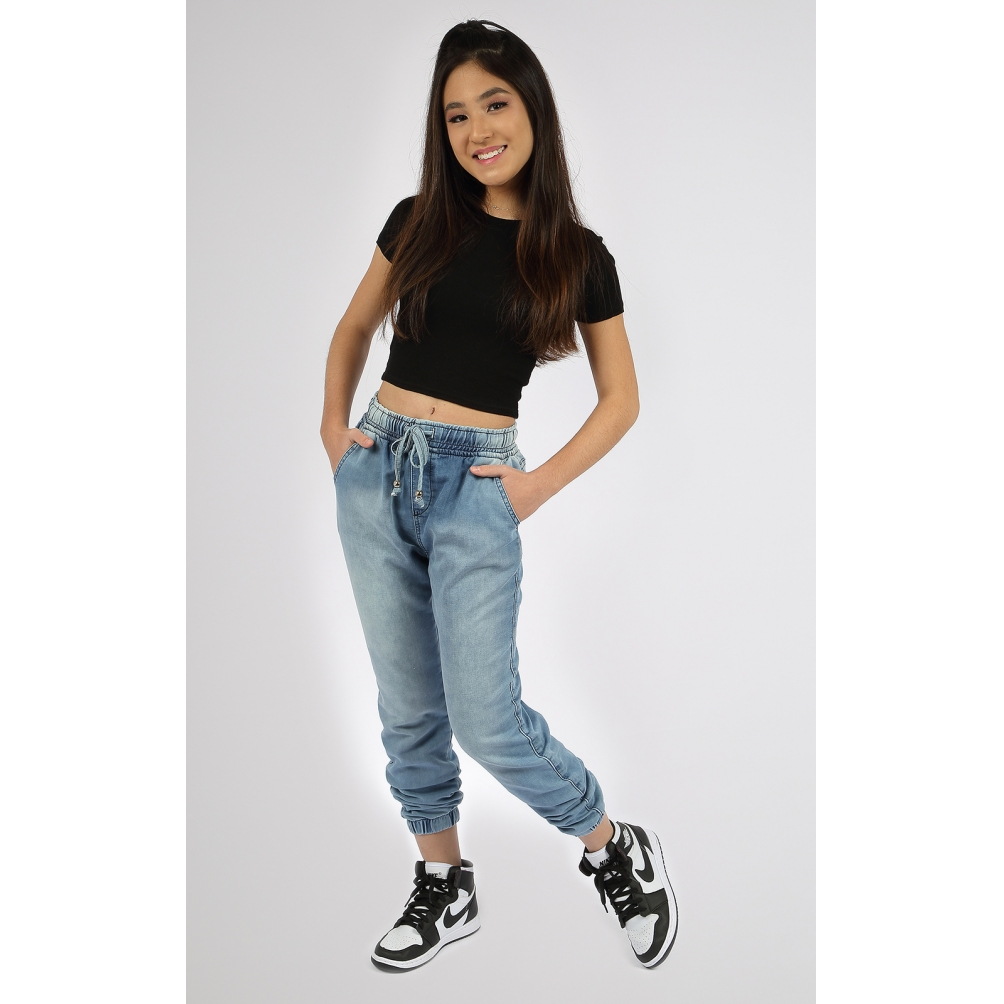 Calça Feminina Jogger Crawling Jeans