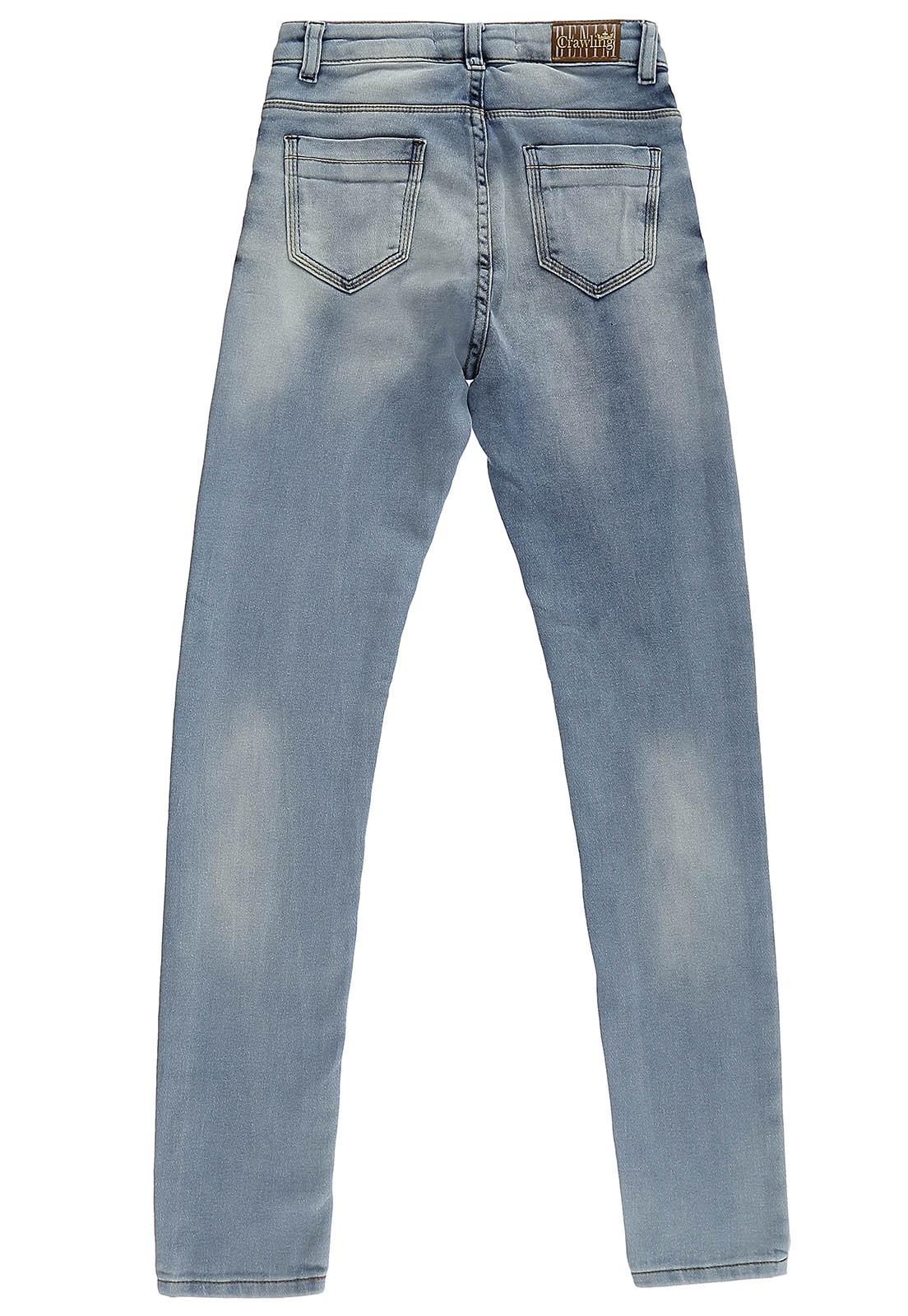 Calça Feminina Skinny Crawling Jeans