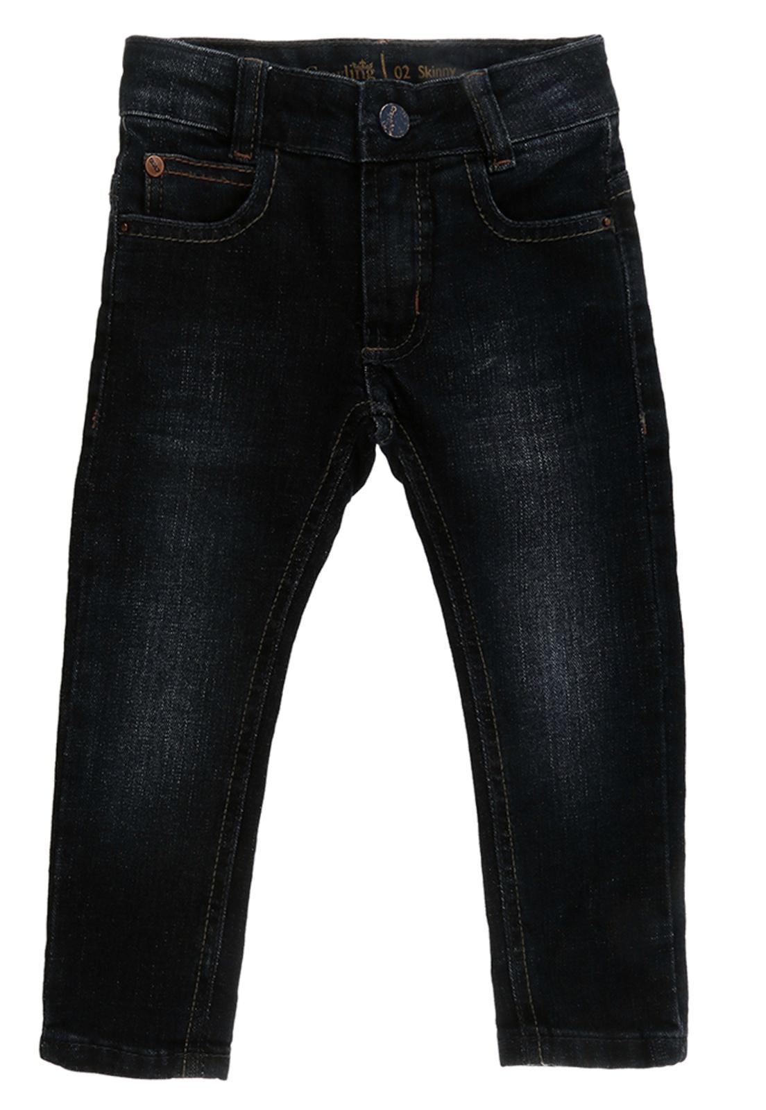Calça Infantil Bebê Jeans Skinny