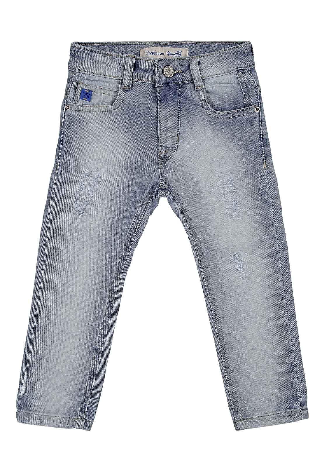 Calça Jeans Crawling Masculina Skinny