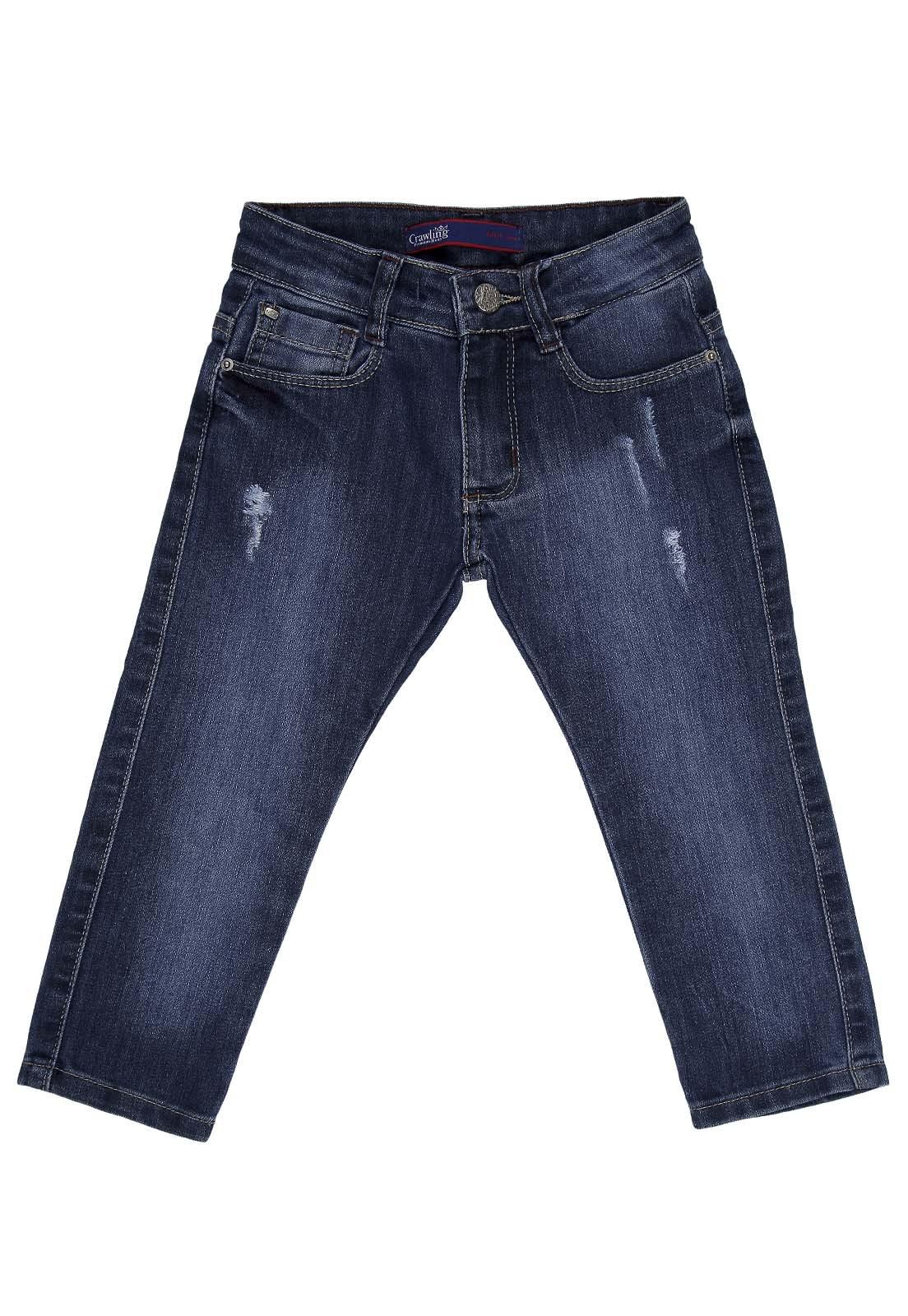 Calça Jeans Crawling Skinny Masculina