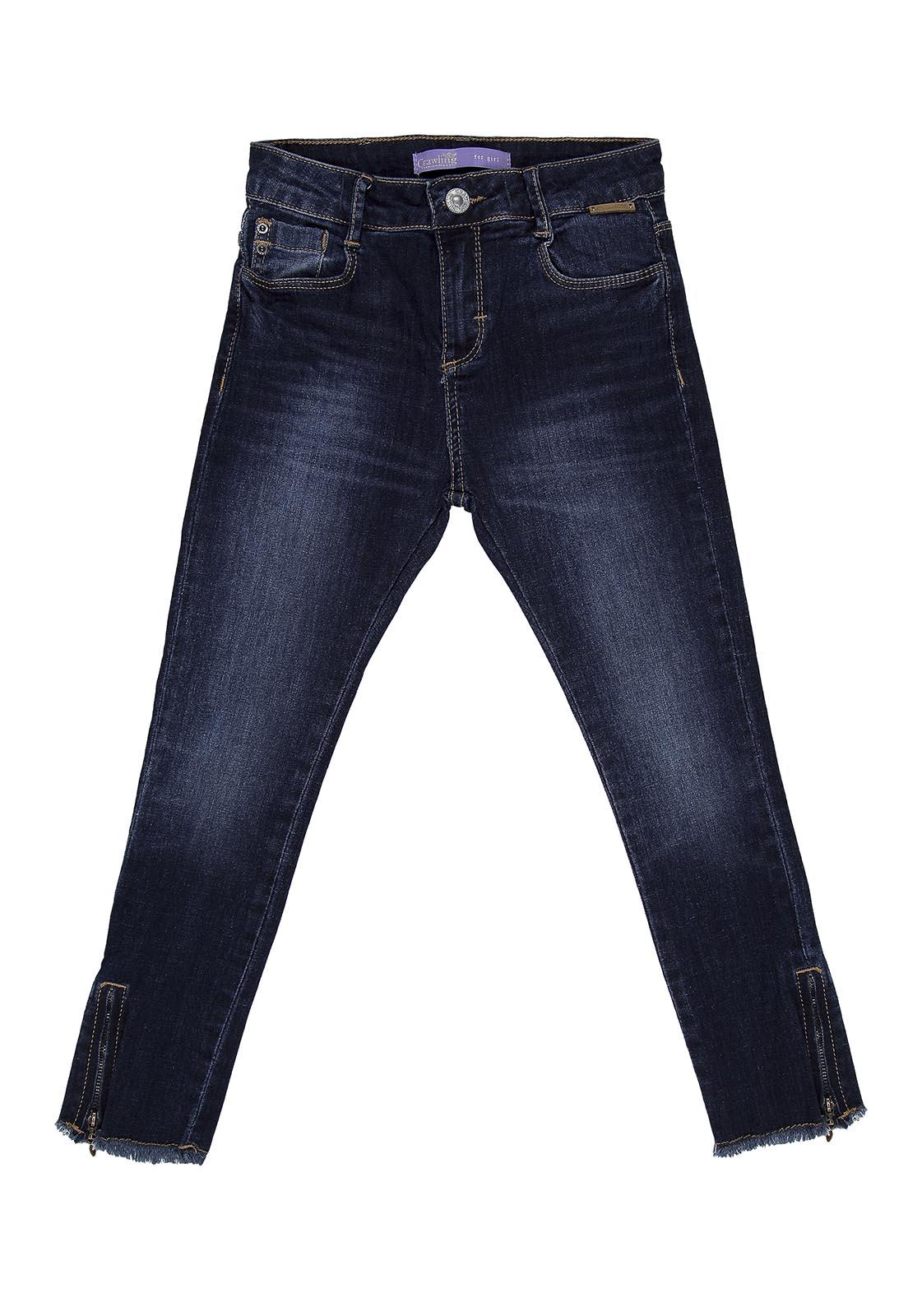 Calça Jeans Cropped Feminina
