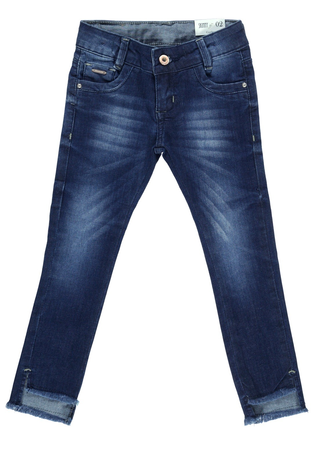 Calça Jeans Feminina Crawling Skinny Azul