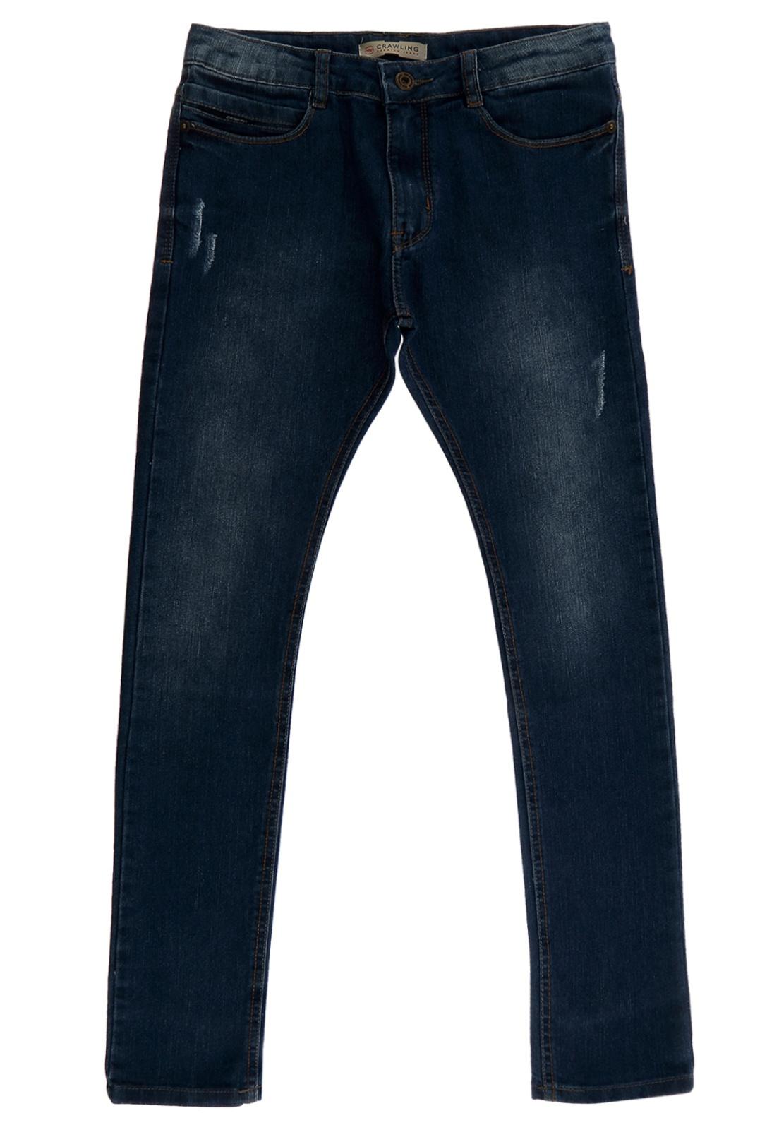 Calça Jeans Skinny Crawling Masculina