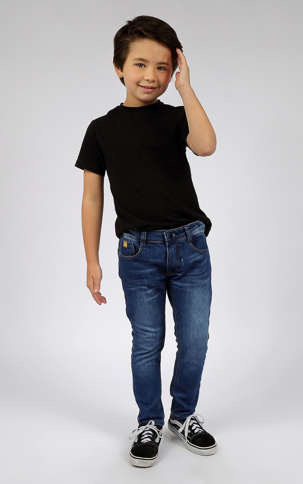 Calça Jeans Skinny Infantil