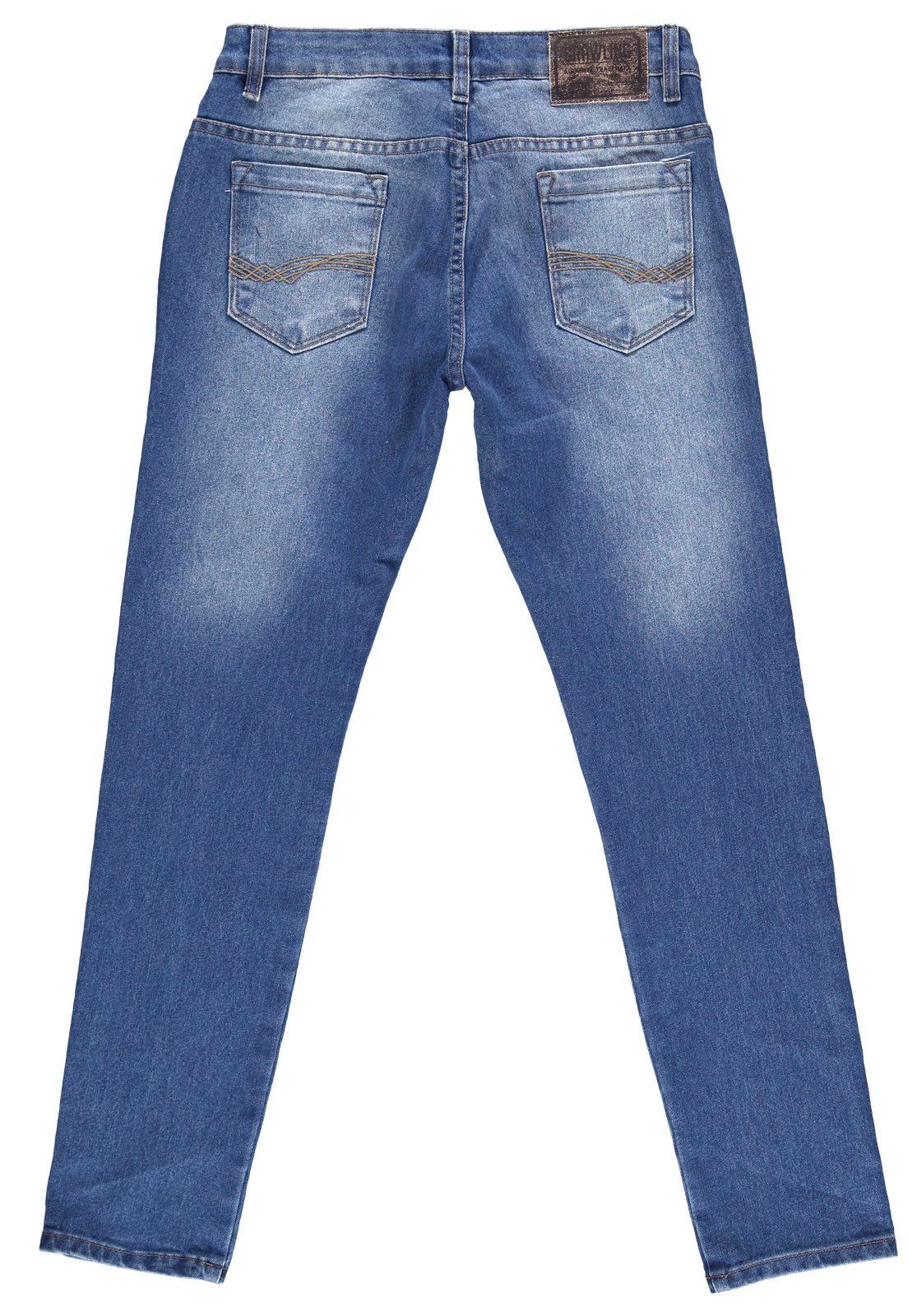 Calça Masculina Crawling Cropped Jeans