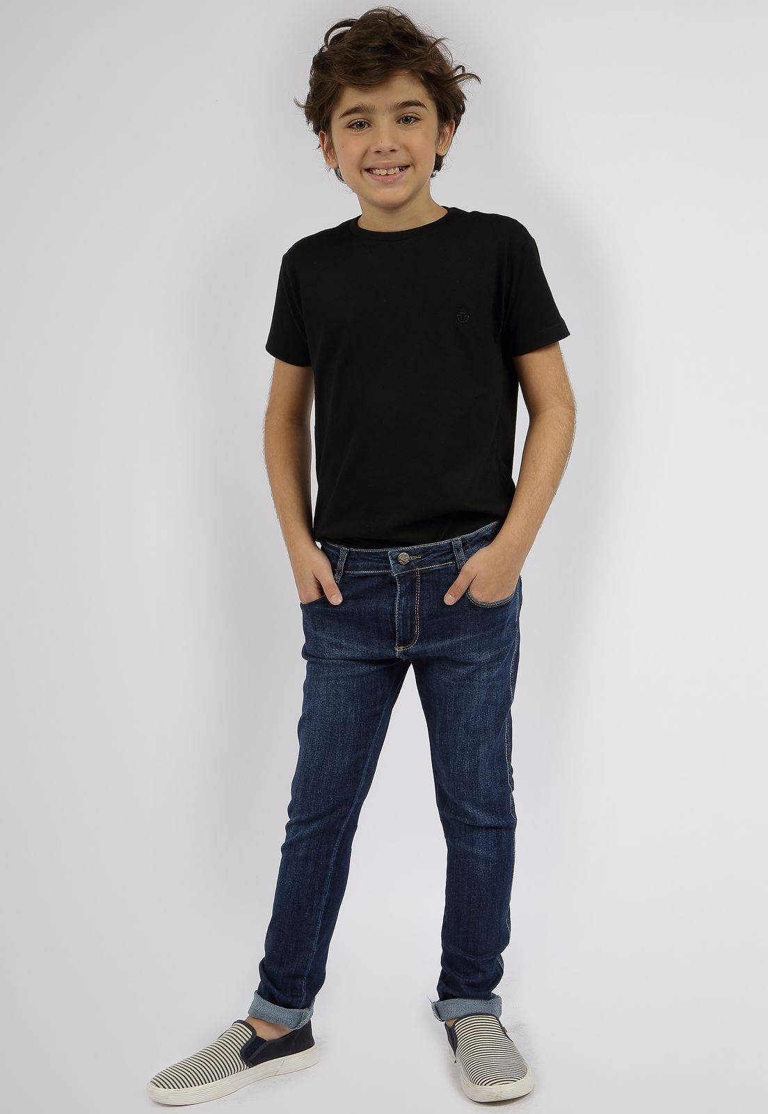 Calça Masculina Eco Dye Crawling Jeans