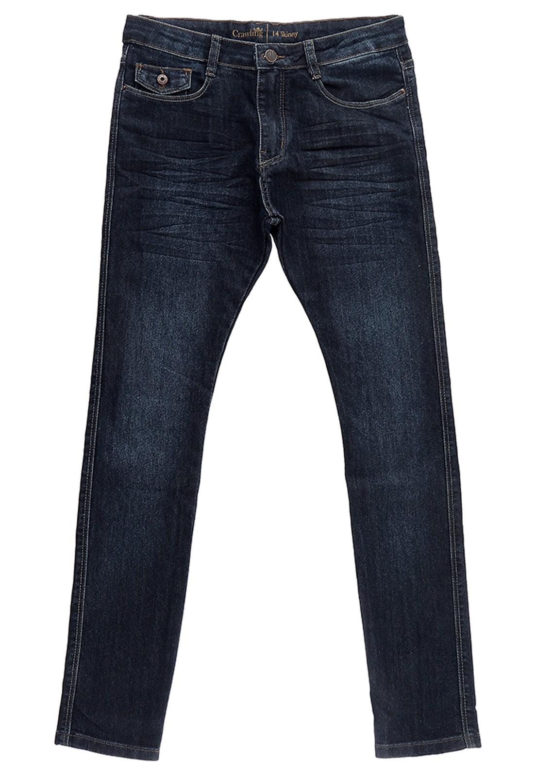 Calça Masculina Jeans Crawling Skinny