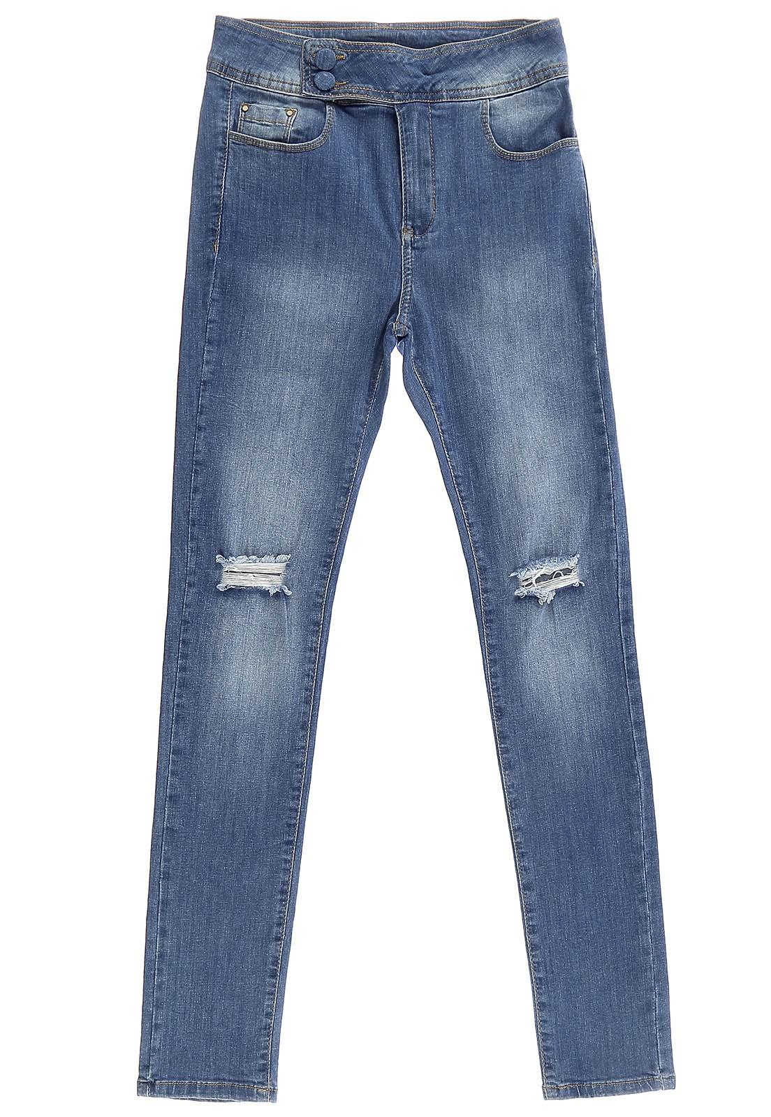 Calça Skinny Crawling Jeans Feminina