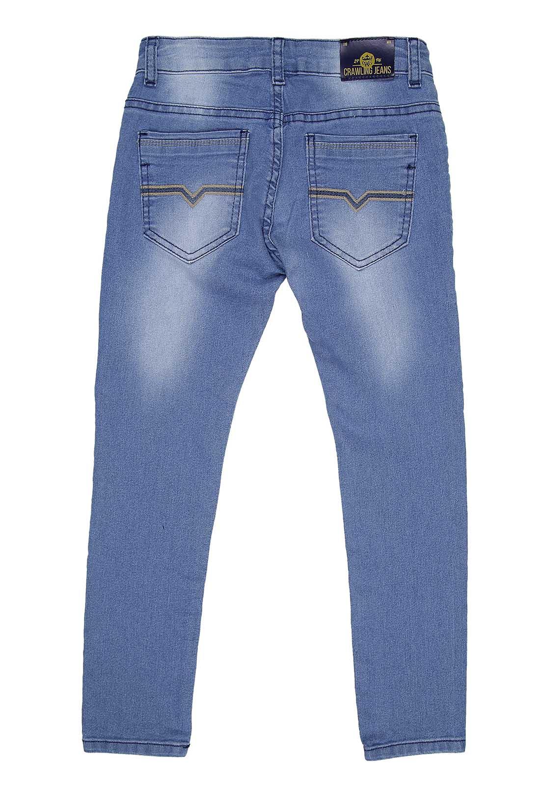 Calça Skinny Crawling Masculina Jeans