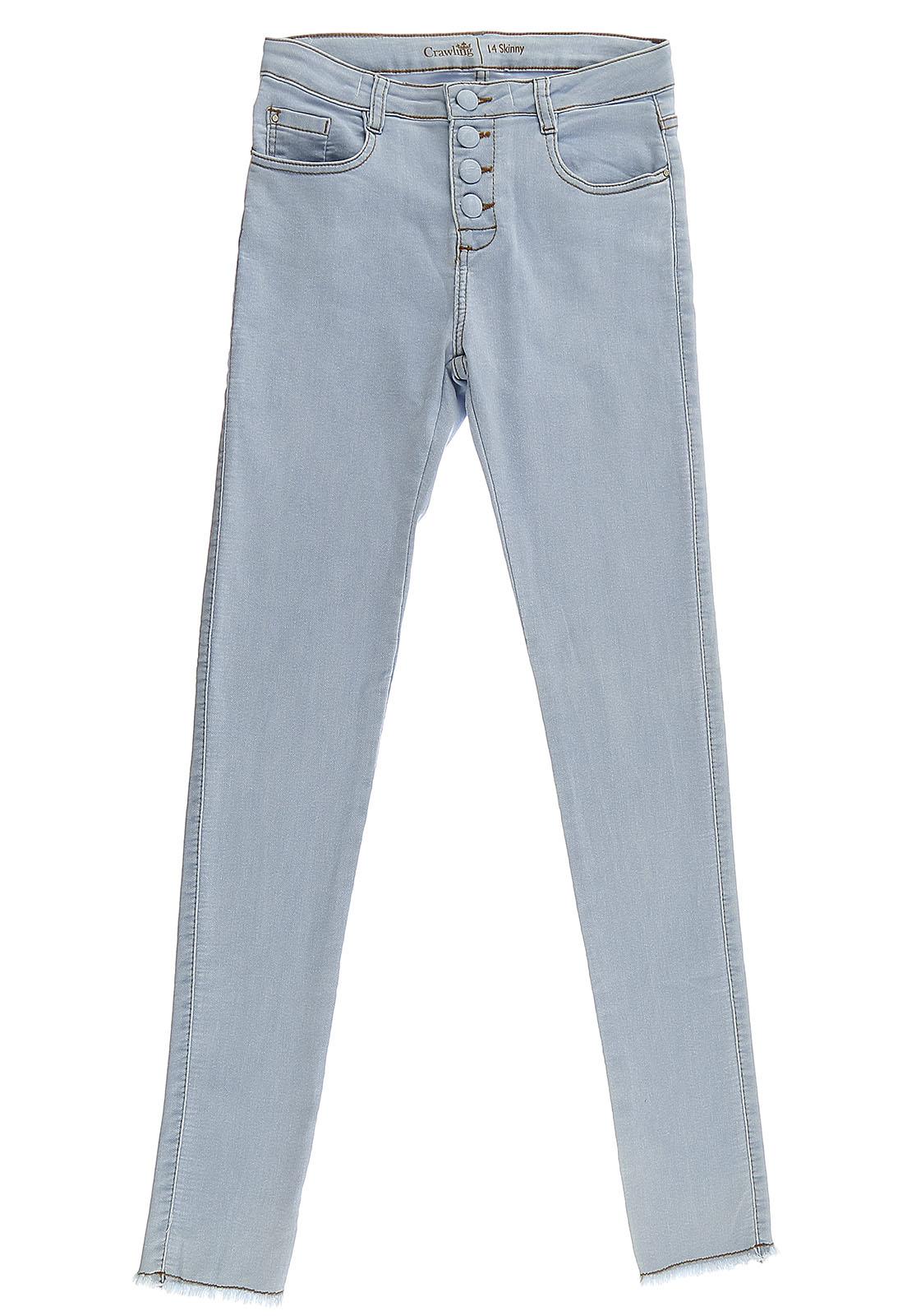 Calça Skinny Feminina Crawling Jeans