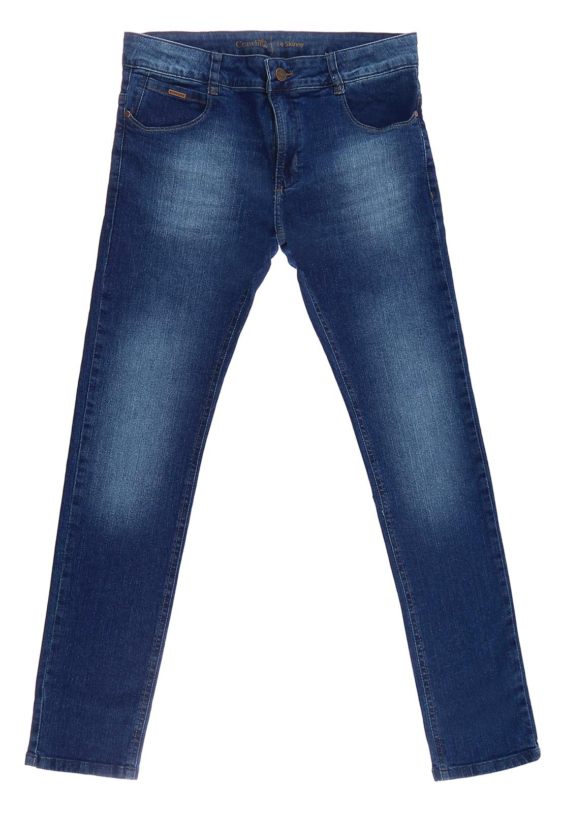 Calça Skinny Jeans Crawling Masculina