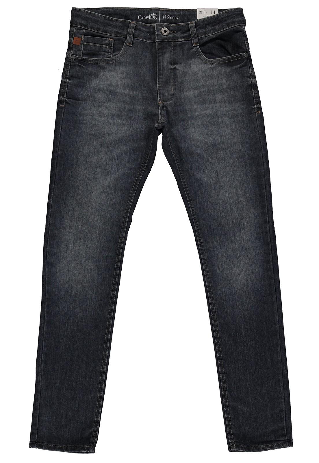 Calça Skinny Masculina Crawling Jeans