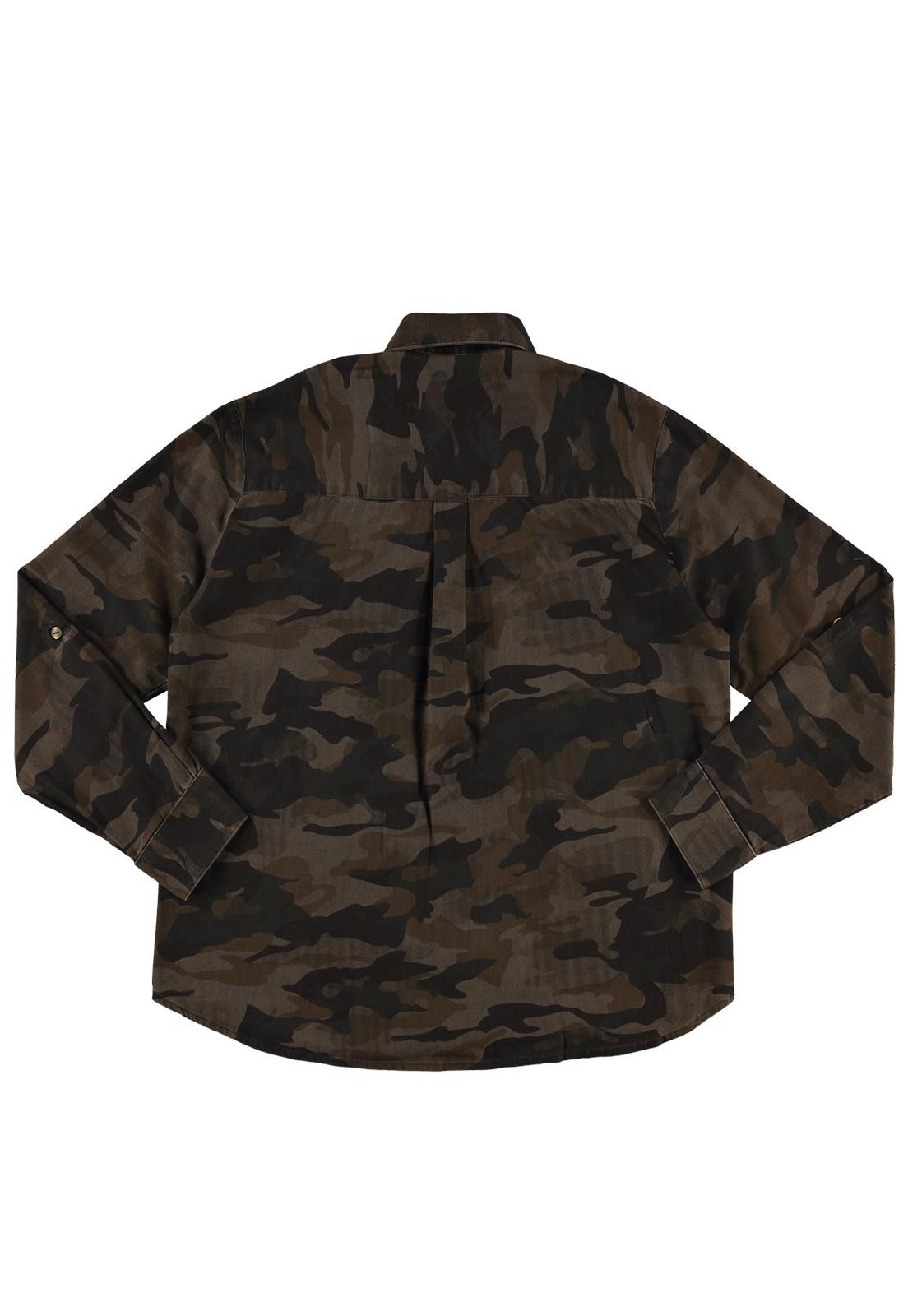 Camisa Crawling Camuflada