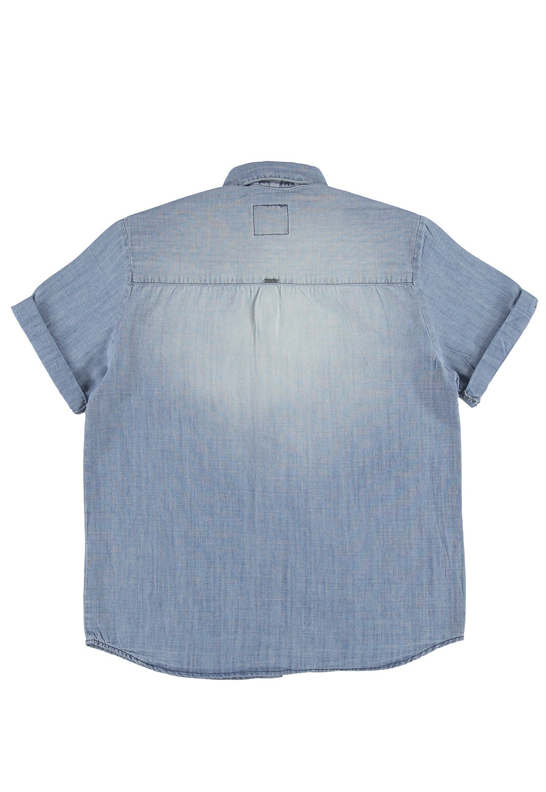 Camisa Crawling Jeans Masculina Manga Curta