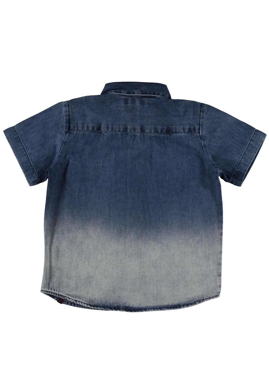 Camisa Crawling Masculina Jeans