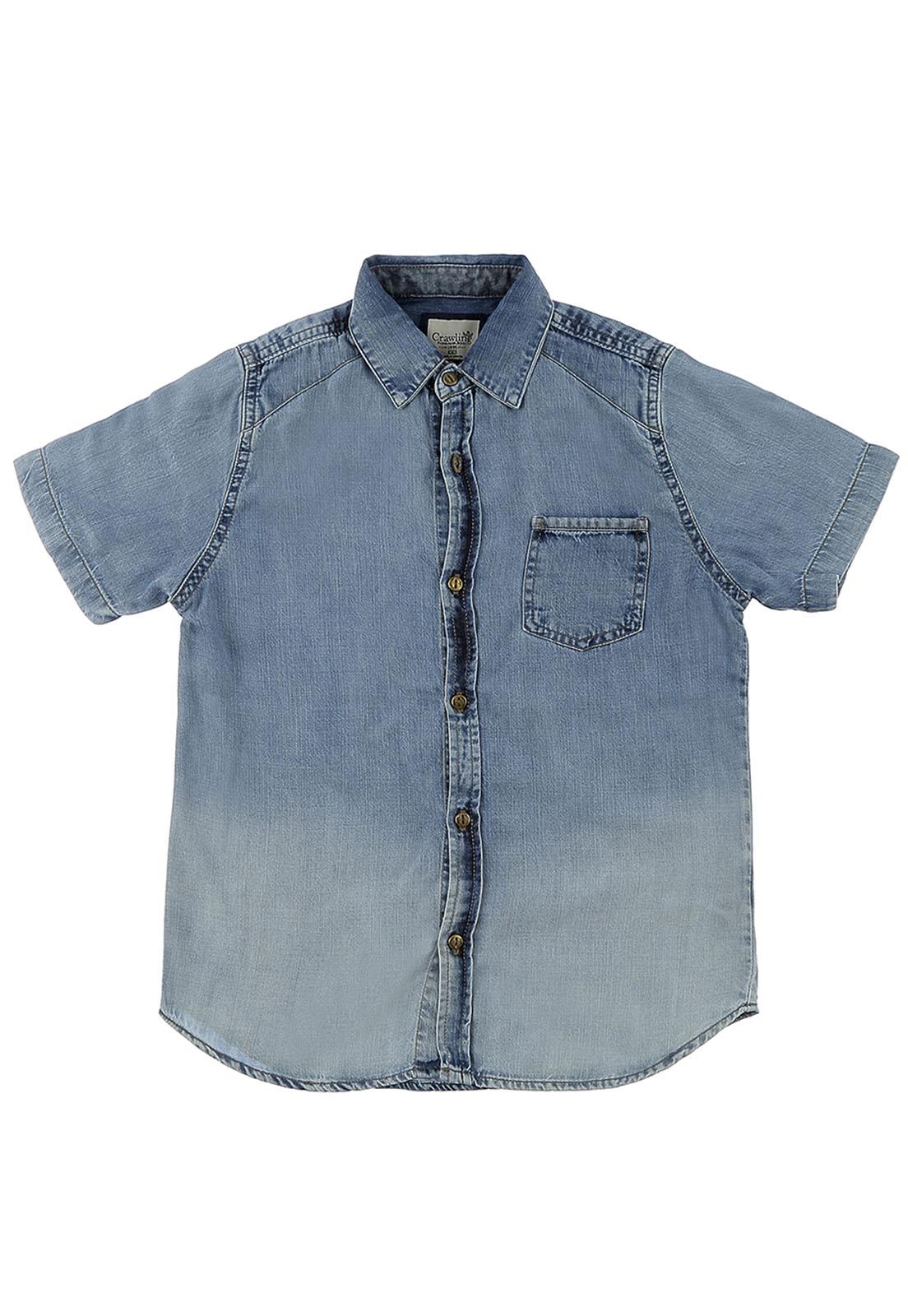 Camisa Crawling Jeans Masculina