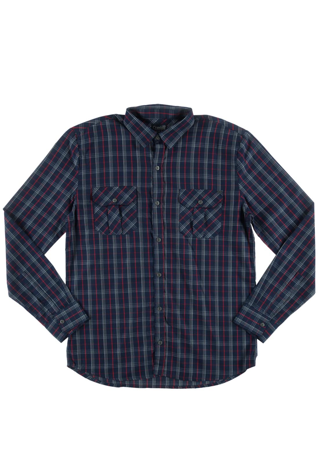 Camisa Xadrez Masculina 10 ao 16