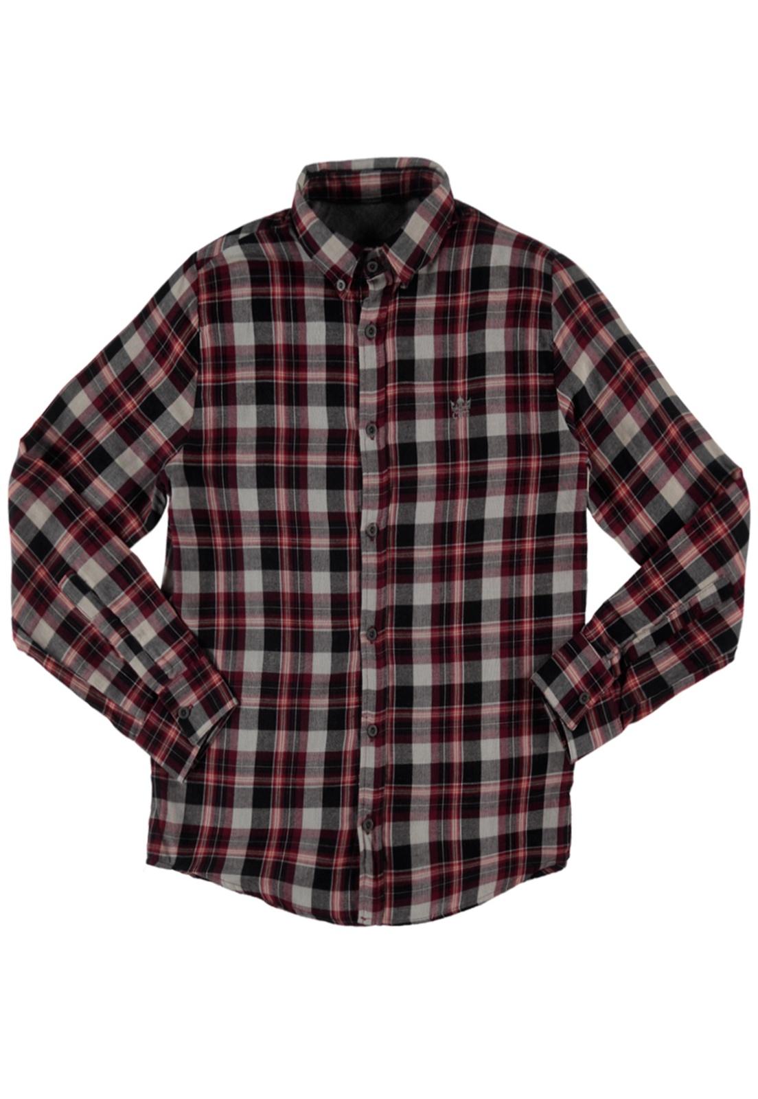 Camisa Xadrez Masculina Manga Longa