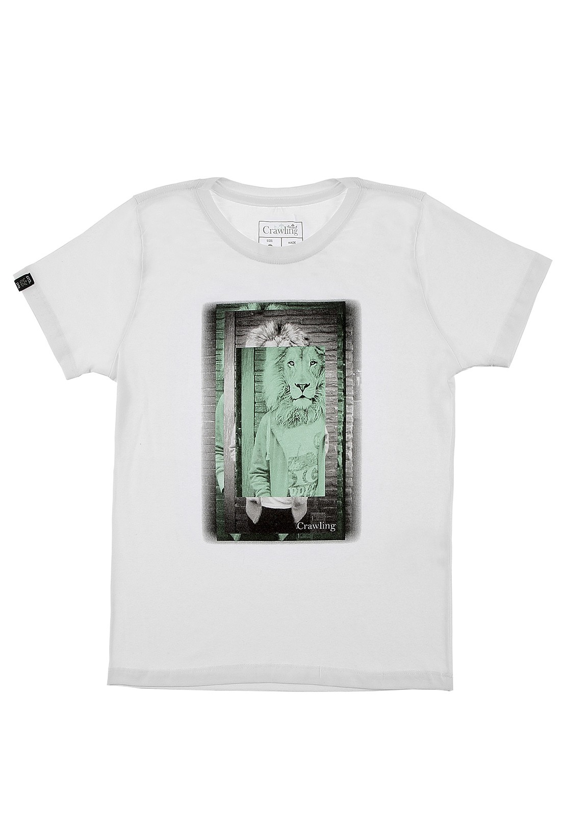 Camiseta Crawling Masculina Manga Curta.