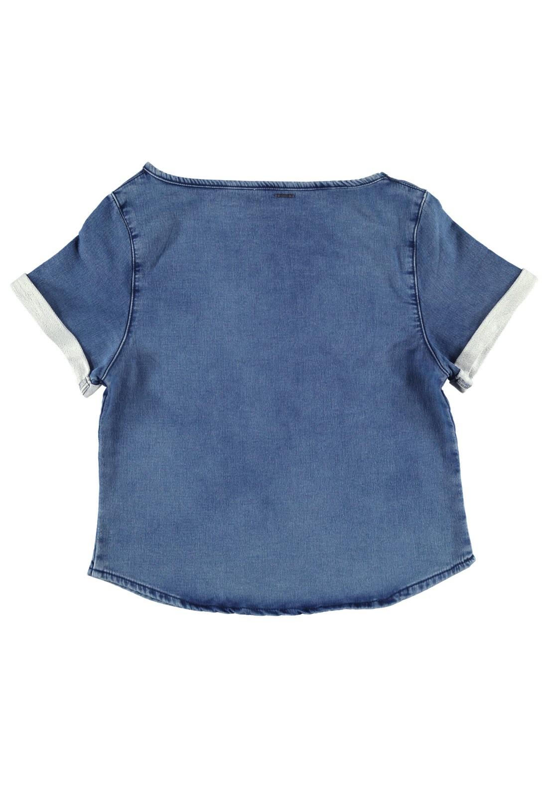 Camiseta T-Shirt Jeans Moletom Crawling c/Estampa