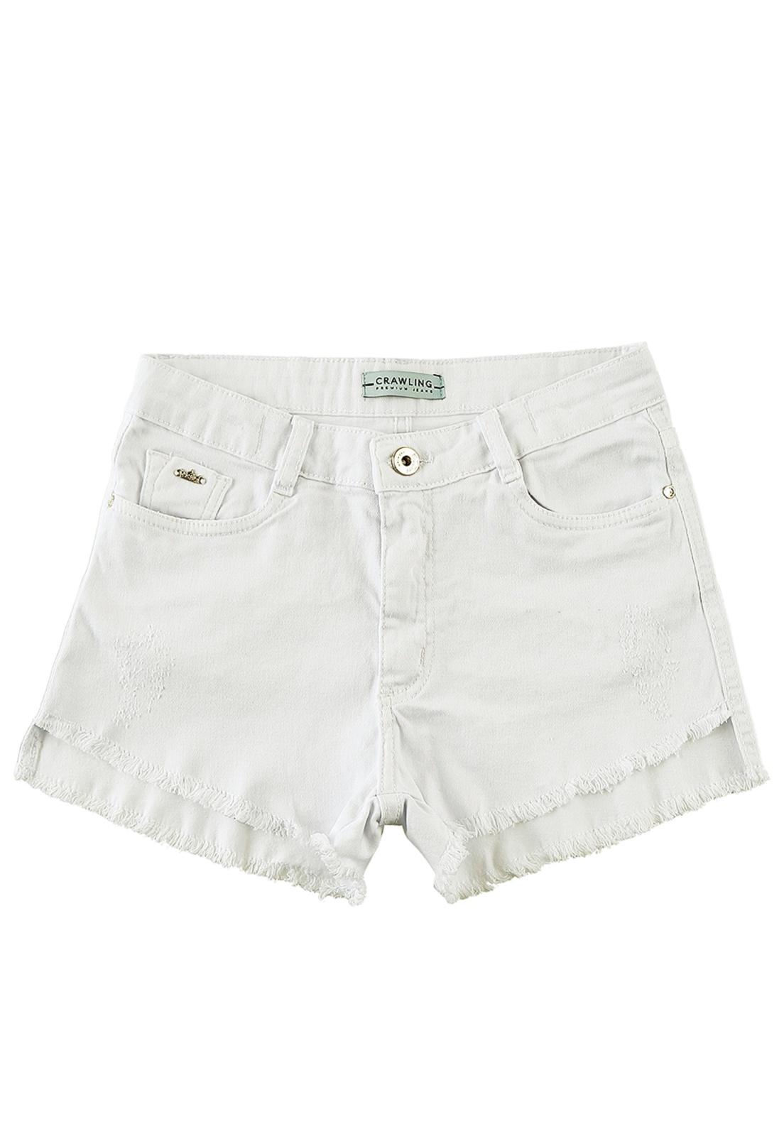 Short Feminino Comfort Crawling Jeans