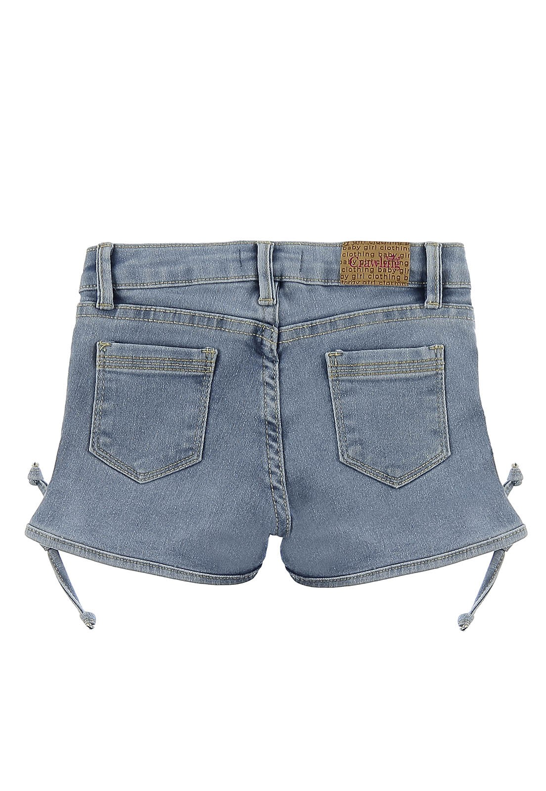 Short Feminino Crawling Baby Girl