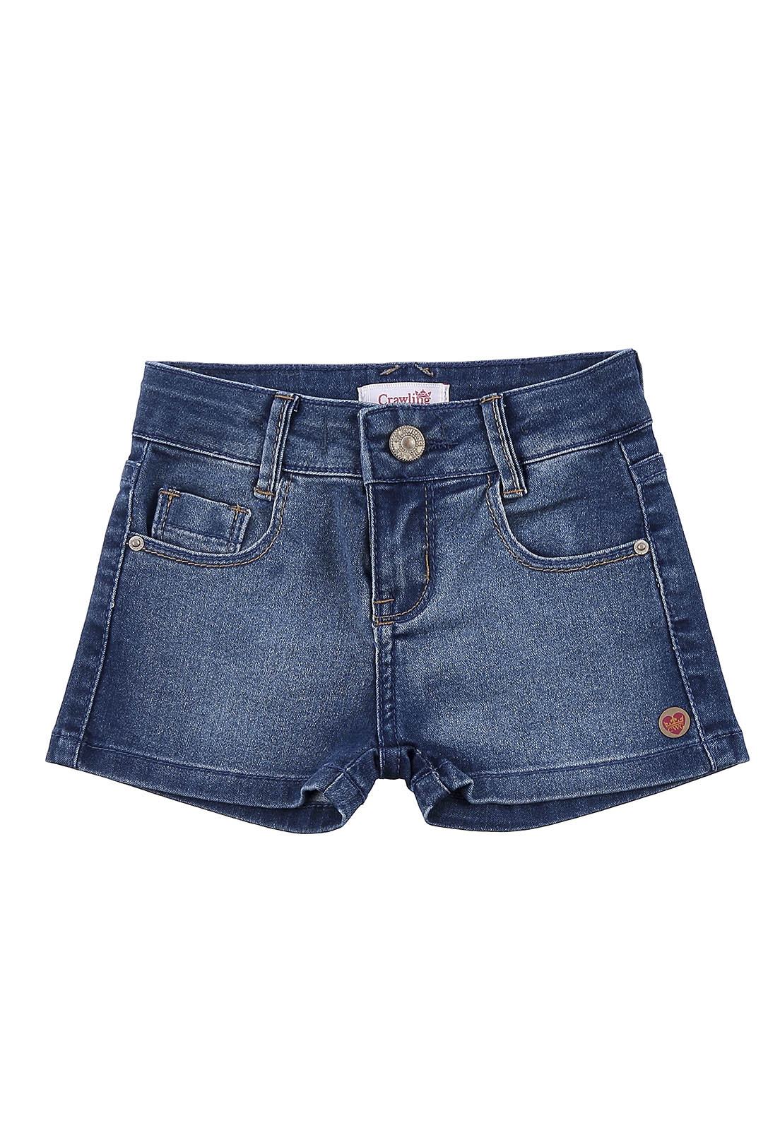 Short Jeans Crawling Baby Girl