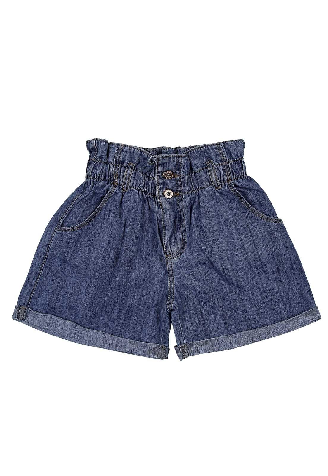 Short Jeans Feminino Clochard