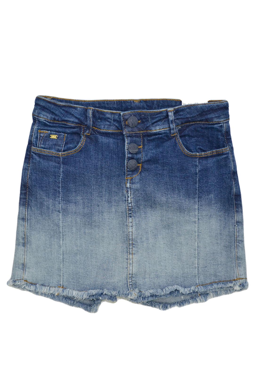 Short Saia Crawling Jeans