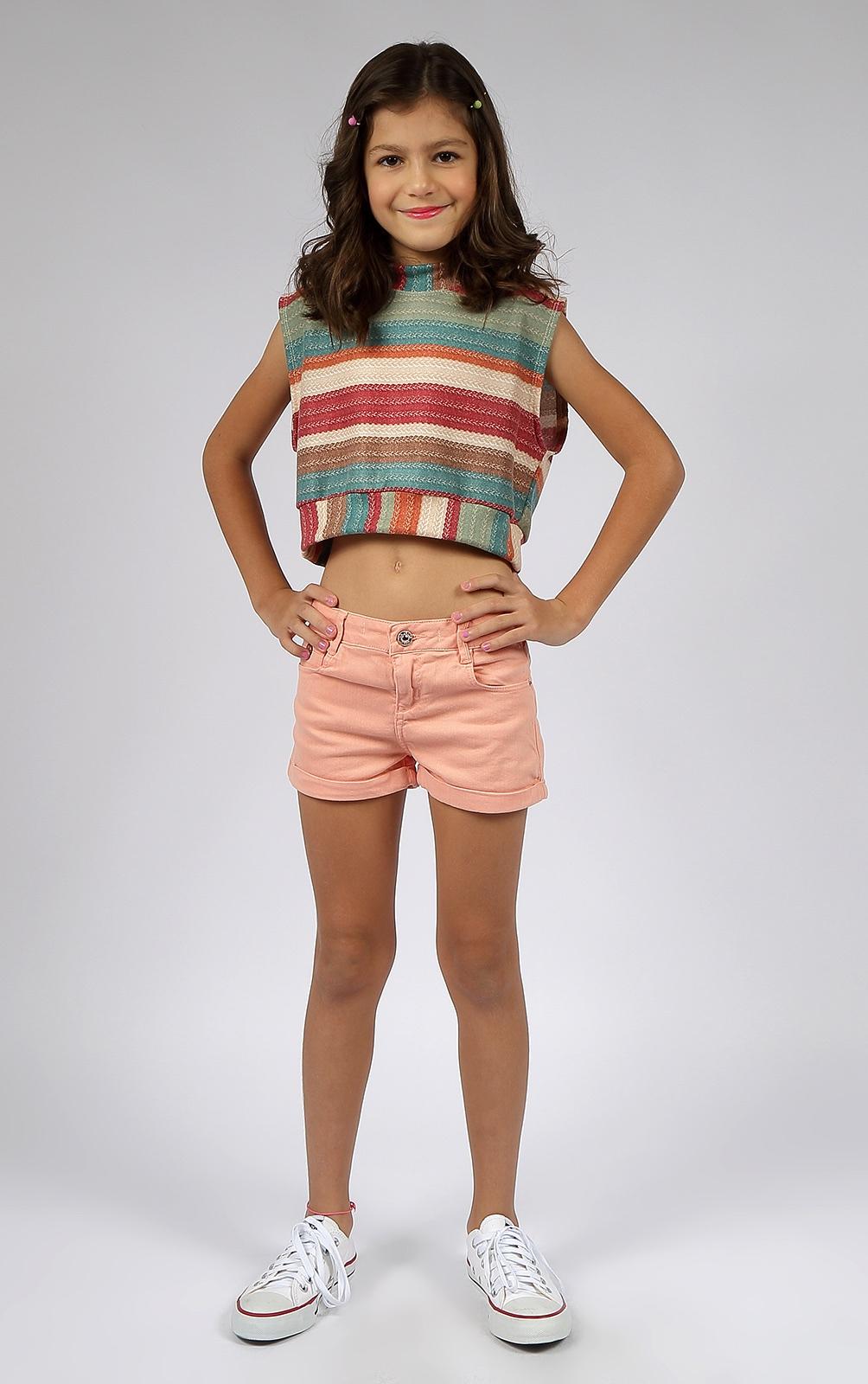 Short Sarja Crawling Jeans Feminino