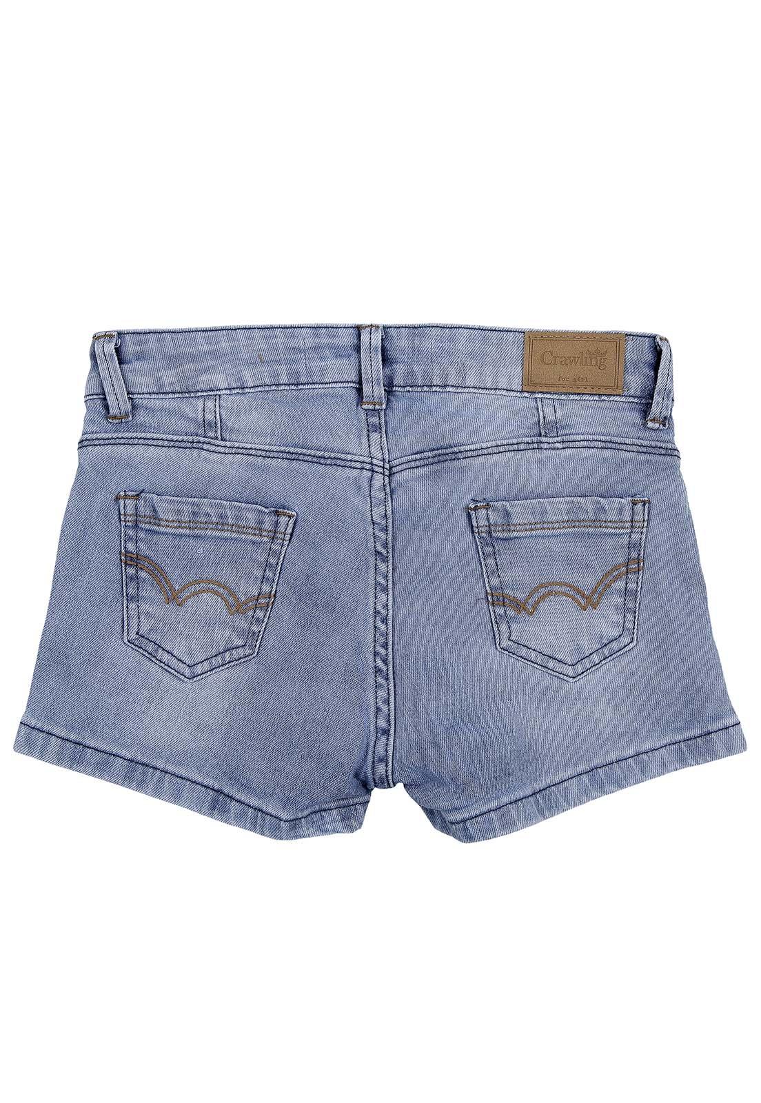 Shorts Feminino Crawling Jeans