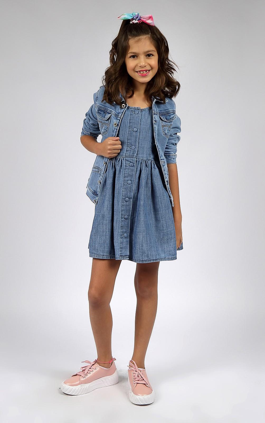 Vestido Infantil Feminino Crawling Jeans