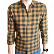 Camisa Ellus manga longa xadrez