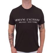 Camiseta Armani Exchange Institucional Manga Curta