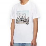 Camiseta Armani Exchange Regular Manga Curta
