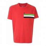 Camiseta Osklen big shirt Gráfico vermelha
