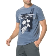 Camiseta Calvin Klein Jeans Youthful Manga Curta