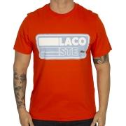 Camiseta Lacoste Manga Curta Estampa