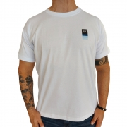 Camiseta Osklen Big Shirt Tridente Box Manga Curta