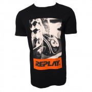 Camiseta Replay Estampada