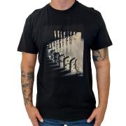 Camiseta Reserva algodão orgânico estampa efeito domino
