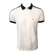 Polo Tommy Hilfiger logo ombro