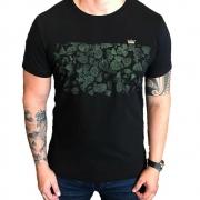 T-Shirt  Osklen Vintage Folhas